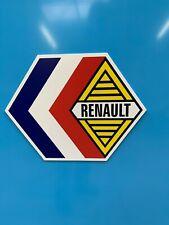 ENSEIGNE RENAULT ( logo époque année 60 et 70 )