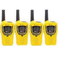 Cobra 23 Mile 22 Channel Walkie Talkie VOX NOAA Receiver Radios CX335 (2 Pairs)