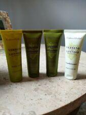 Crabtree & Evelyn Shampoo Conditioner  Verbena Lavender Body Wash  Travel Set 4