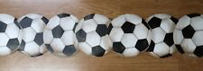 Wallpaper Borders Children's Bedroom pre-pasted BT2900B Laser Cut FOOTBALLS