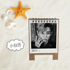 KPOP EXO CHANYEOL Personal 2017 Mini cute Calendar Desk calendar