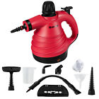 Costway 1050W Portable Multipurpose Pressurized Handheld Steam Cleaner Red photo
