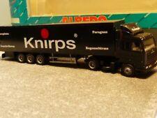 1/87 Herpa Albedo Scania 143 Knirps Koffer Sattelzug 296011
