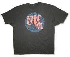 The Cure-Blue Spiral 2016 Tour-3X Black T-shirt