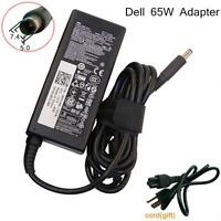 GENUINE OEM 65W Dell Inspiron 1440 1447 1545 1750 Cord AC Adapter Power Charger