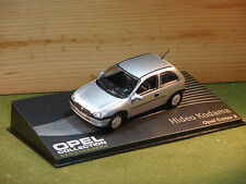 Opel Corsa / Vauxhall Corsa in Silver 3 Door 1/43rd Scale