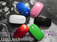 NEW 2.4GHz Ultra-thin WIRELESS OPTICAL MOUSE FOR APPLE Samsung PC Laptop Macbook