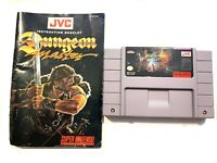 Dungeon Master SUPER NINTENDO SNES Game Tested + Working & Authentic!