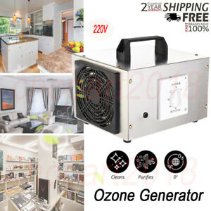Ozone Generator 10000mg/h Portable Ozonizer Air Purifier Sterilizer treatment