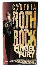 Angel Of Fury - VHS  Cynthia Rothrock, Chris Barnes, Peter O'Brien, Tanaka RARE