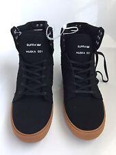 Supra Sky Top Muska 001 S18265 High Top Sneaker Black/Tan Sole Men's Size 8.5