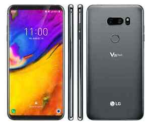 LG V35 ThinQ | V350 64GB AT&T T-Mobile or GSM Unlocked Android GOOD 7.5-8.5/10