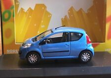 Norev - Peugeot Model Car, 107 Metalic Blue *NIB* 1:43 Diecast