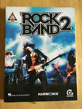 Rock Band 2 Music Book for video game 39 songs Guitar Recorded Versions