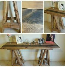 Wooden Pine Trestle Table Trestle Desk Bench Office Table