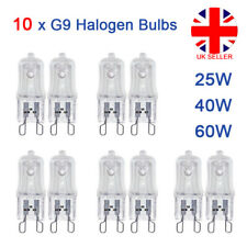 10x G9 Halogen Replacement Bulbs 60W 40W 25W Clear Capsule 240V Warm White Lamp
