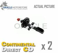 2 x CONTINENTAL DIRECT FRONT SHOCK ABSORBERS STRUTS SHOCKERS OE QUALITY GS6008F