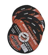 """Confezione di 5 Dischi Taglio in Metallo/LAME 4 1/2"""" - 115 mm"""