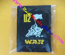 PORTAFOGLIO Wallet U2 War NERO BLACK 10x14 cm BONO VOX no cd dvd lp mc vhs live