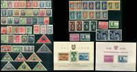 Early LITHUANIA LIETUVA Airmail Stamps Sheets Postage Collection Mint Used
