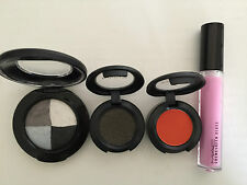 Mac Make Up - Selling as a pack - 3 x Eye Shadow + 1 x Lip Glass - Unboxed - New