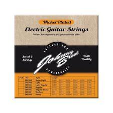 Nickel Plated Steel Electric Guitar Strings Set of 6 (Gauge Light/Regular)