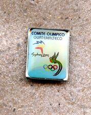 NOC Guatemala 2000 Sydney OLYMPIC Games Pin LOGO