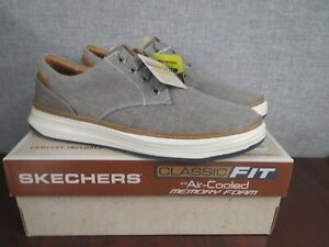 Skechers Men's Moreno Ederson Shoes, Grey, Size 9.5 ~NEW~