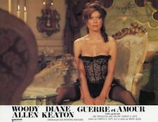 SEXY DIANE KEATON LOVE AND DEATH 1975 VINTAGE LOBBY CARD ORIGINAL
