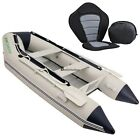 Top 0.9MM PVC 9.8ft Inflatable Boat Tender Raft Dinghy Boat &Pump Popular BSTY