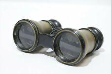 J H Steward Opticians Strand London Antique Brass Opera Glasses Binoculars - 214