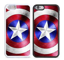 Captain America Shield Brushed Steel Marvel Avengers cover,case for apple models
