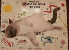 Trader Joe's Advent Calendar For Cats Treats 2019 Salmon And Dried Seaweed 02/21
