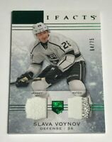 Slava Voynov /75 made Artifacts Game Jersey Patch Insert Parallel Hockey Card 13