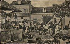 Cabo Verde Mercado S. Vicente c1910 Postcard