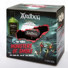 Ardbeg: Three Monsters of smoke: An Oa, Wee Beastie, TEN 0,2l Whisky-Trial Trio