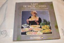 L'ART DU MICRO-ONDES selon DE DIETRICH Livre de Recettes en 4 langues