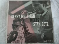 GERRY MULLIGAN MEETS STAN GETZ VINYL LP ALBUM 1957 VERVE RECORDS MONO BALLAD