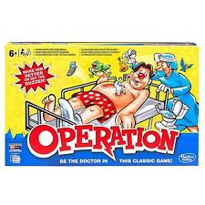 Hasbro B2176 Gaming Be The Doctor Classic Operation Family Board Game - Multi