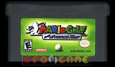 MARIO GOLF ADVANCE TOUR Gameboy Advance Versione Americana ••••• CARTUCCIA