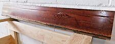 1910 Wooden Antique BASE TRIM Molding MILLWORK Fir Unique Top Craftsman ORNATE