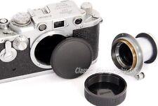 Leica L39 Body Cap for Leica IIIg Leica IIIf + Rear Lens Cap for SUMMILUX 1.4/50