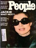 Jackie Onassis People Magazine March 31, 1975