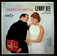 LENNY DEE something special LP VG+ MCA-221 Autographed Vinyl 1980 Record