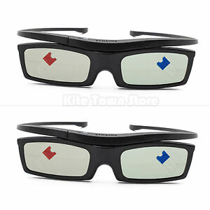 2 X Glasses For Samsung SSG-5100GB Active 3D Substitute for RF3D  ELPGS03