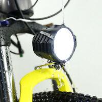 2 in 1 faro anteriore luce led lampada corno per bicicletta elettrica E-Bike