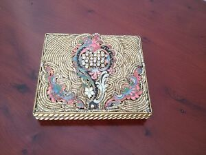 Rare Vintage French Miref Ladies Powder Compact