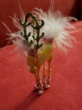 Krinkles Patience Brewster Mini Dog Deer Ornament Dept 56