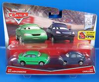 Disney PIXAR Cars Doppel Pack  Dan Sclarkenberg + Kim Carllins