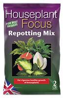 Houseplant Focus Repotting Mix 2L - Compost for House Plants